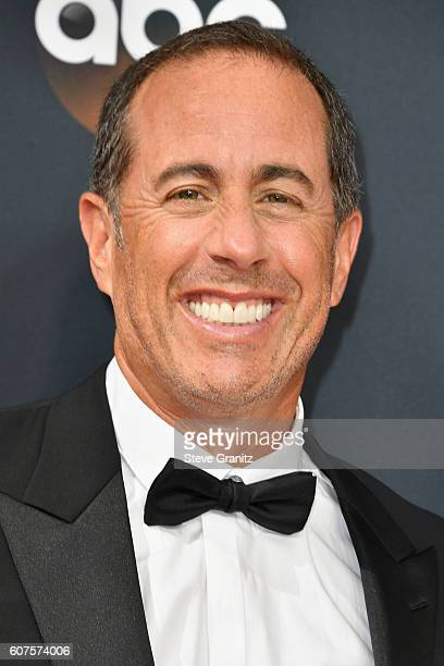 Comedian Jerry Seinfeld attends the 68th Annual Primetime Emmy Awards at Microsoft Theater on September 18 2016 in Los Angeles California