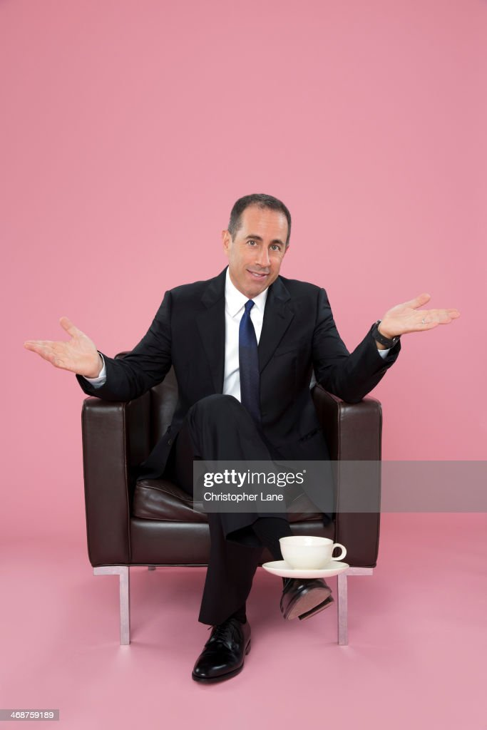 Comedian <a gi-track='captionPersonalityLinkClicked' href=/galleries/search?phrase=Jerry+Seinfeld&family=editorial&specificpeople=210541 ng-click='$event.stopPropagation()'>Jerry Seinfeld</a> is photographed for The Guardian Newspaper on November 15, 2013 in New York City. PUBLISHED