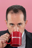 Comedian Jerry Seinfeld is photographed for The Guardian Newspaper on November 15 2013 in New York City