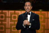 Comedian Jerry Seinfeld speaks onstage at Spike TV's 'Don Rickles One Night Only' on May 6 2014 in New York City
