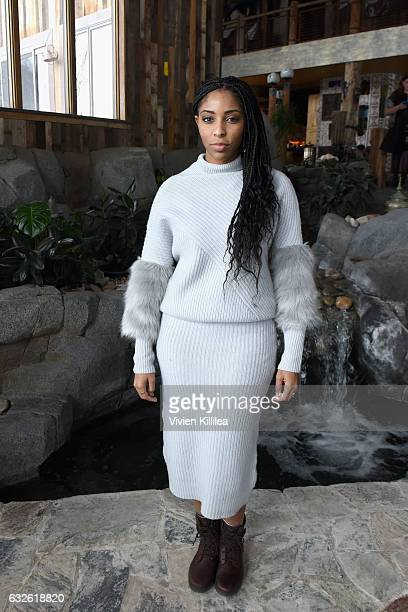 Comedian Jessica Williams attends Lunch Celebrating Films Powered By Women Hosted By Glamour's Cindi Leive And Girlgaze's Amanda de Cadenet During...