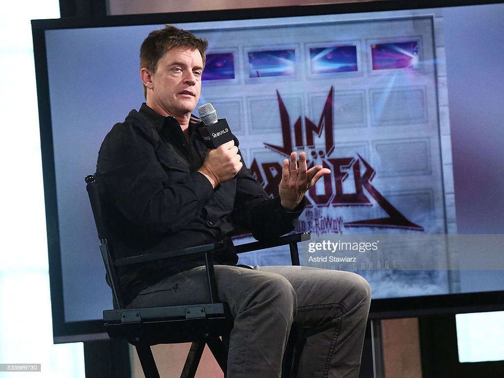 Comedian <a gi-track='captionPersonalityLinkClicked' href=/galleries/search?phrase=Jim+Breuer&family=editorial&specificpeople=614264 ng-click='$event.stopPropagation()'>Jim Breuer</a> attends AOL Build Presents: <a gi-track='captionPersonalityLinkClicked' href=/galleries/search?phrase=Jim+Breuer&family=editorial&specificpeople=614264 ng-click='$event.stopPropagation()'>Jim Breuer</a> Discussing His First Full Length Album 'Songs From The Garage' at AOL Studios In New York on May 24, 2016 in New York City.