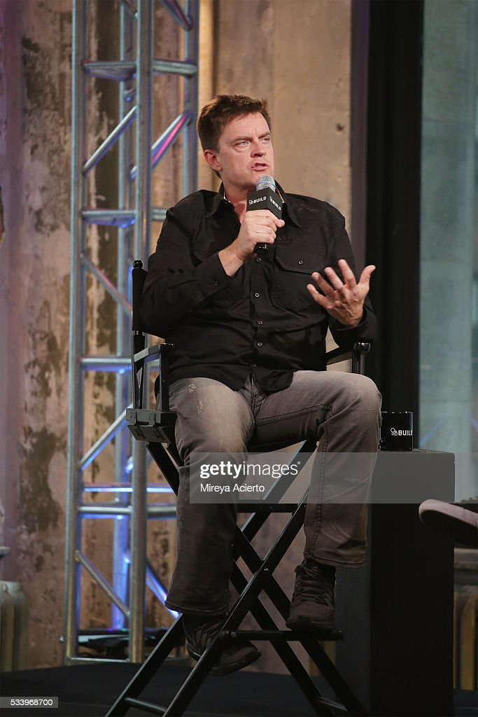 Comedian <a gi-track='captionPersonalityLinkClicked' href=/galleries/search?phrase=Jim+Breuer&family=editorial&specificpeople=614264 ng-click='$event.stopPropagation()'>Jim Breuer</a> discusses his first full length album 'Songs From the Garage' during AOL Build at AOL Studios in New York on May 24, 2016 in New York City.
