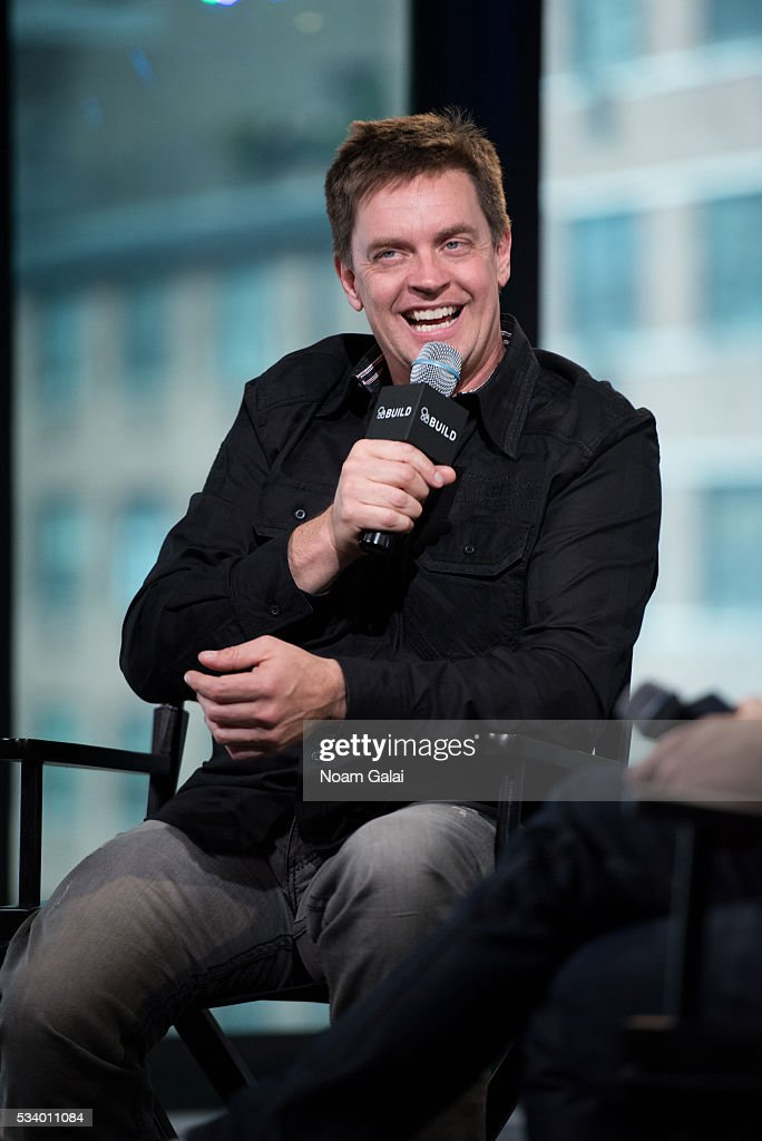 Comedian <a gi-track='captionPersonalityLinkClicked' href=/galleries/search?phrase=Jim+Breuer&family=editorial&specificpeople=614264 ng-click='$event.stopPropagation()'>Jim Breuer</a> visits AOL Build to discuss his album 'Songs From The Garage' at AOL Studios In New York on May 24, 2016 in New York City.