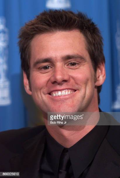 Comedian Jim Carrey at the 71st Annual Academy Awards March 21 1999 In Los Angeles California