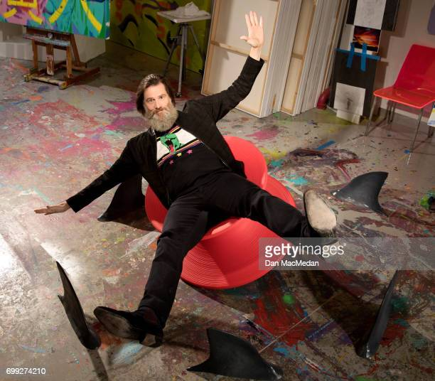 Comedian Jim Carrey is photographed for USA Today on May 30 2017 in Los Angeles California PUBLISHED IMAGE