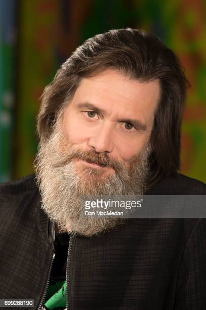 Comedian Jim Carrey is photographed for USA Today on May 30 2017 in Los Angeles California