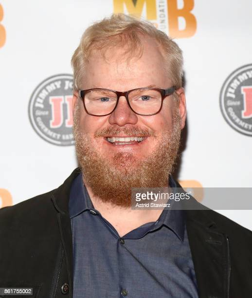 Comedian Jim Gaffigan attends 6th Annual Mario Batali Foundation Honors dinner at Del Posto on October 15 2017 in New York City