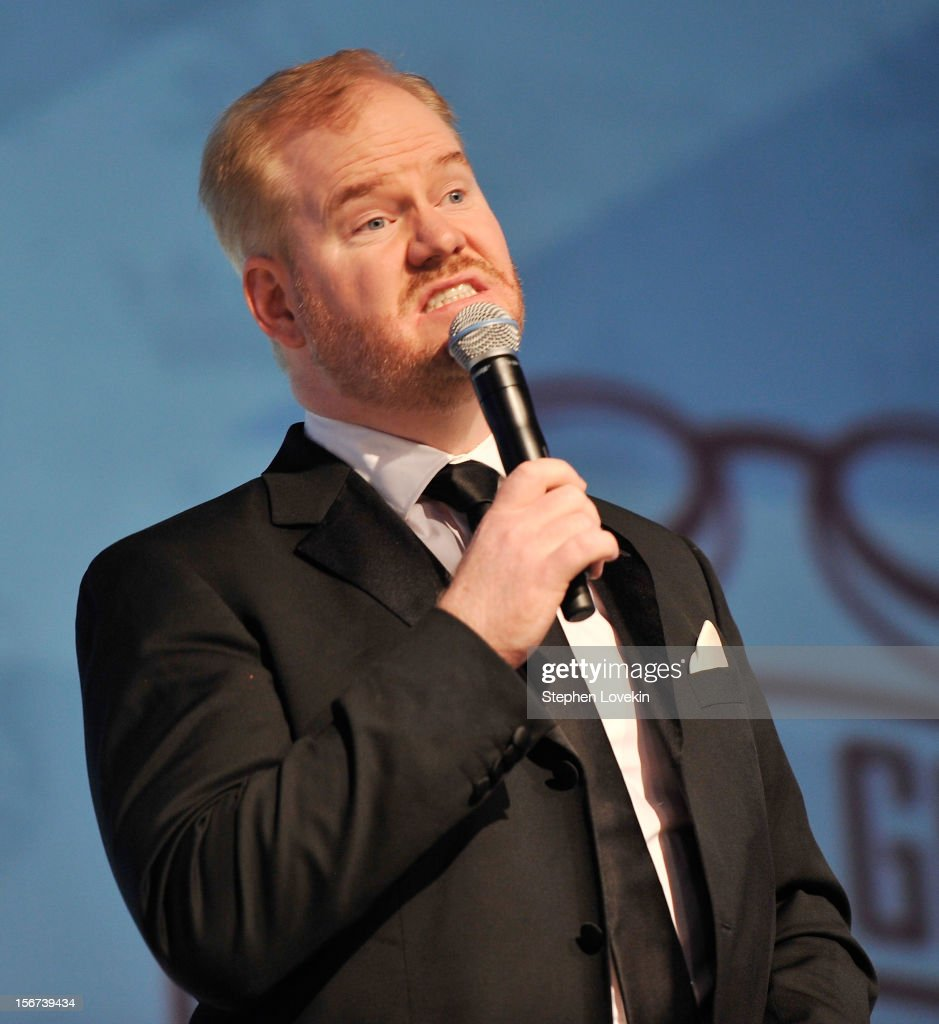 Comedian Jim Gaffigan attends the 2012 Golden Goggle awards at the Marriott Marquis Times Square on November 19, 2012 in New York City.