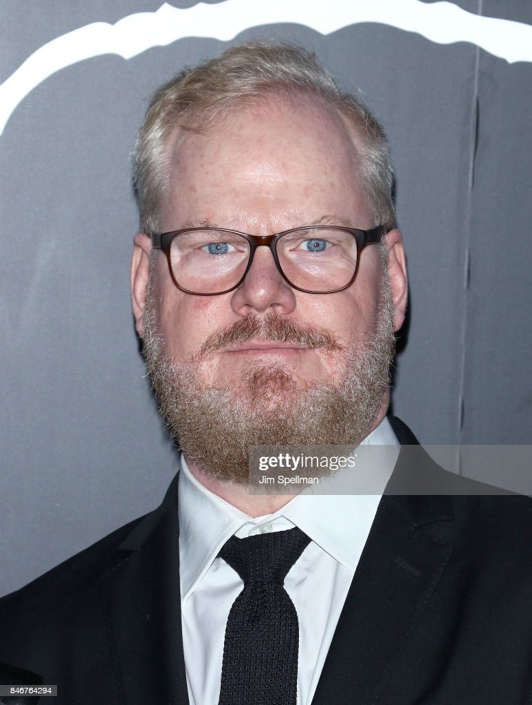 Comedian Jim Gaffigan attends the 'mother!' New York premiere at Radio City Music Hall on September 13, 2017 in New York City.