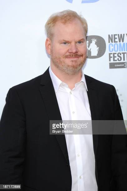 Comedian Jim Gaffigan attends The New York Comedy Festival And The Bob Woodruff Foundation Present The 7th Annual Stand Up For Heroes Event at The...