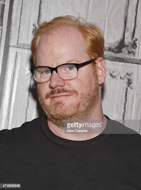 Comedian Jim Gaffigan speaks at the AOL BUILD Speaker Series Jim Gaffigan at AOL Studios In New York on May 26 2015 in New York City