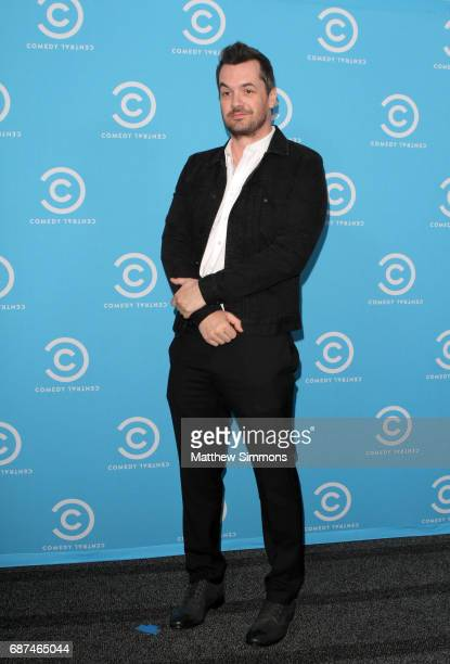 Comedian Jim Jefferies of 'Jim Jefferies Show' attends Comedy Central's LA Press Day at Viacom Building on May 23 2017 in Los Angeles California