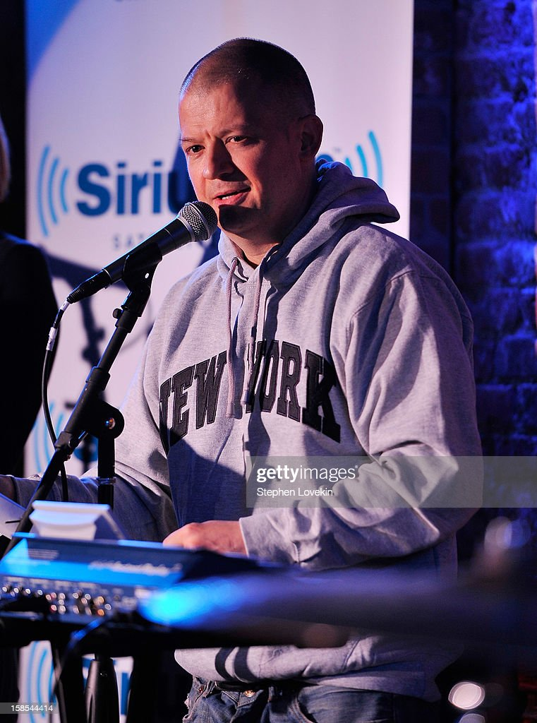 Comedian Jim Norton attends comedian Tom Papa's special Christmas edition of SirusXM's 'Come To Papa' his 'Raw Dog' comedy show on SiriusXM at Village Underground on December 18, 2012 in New York City.