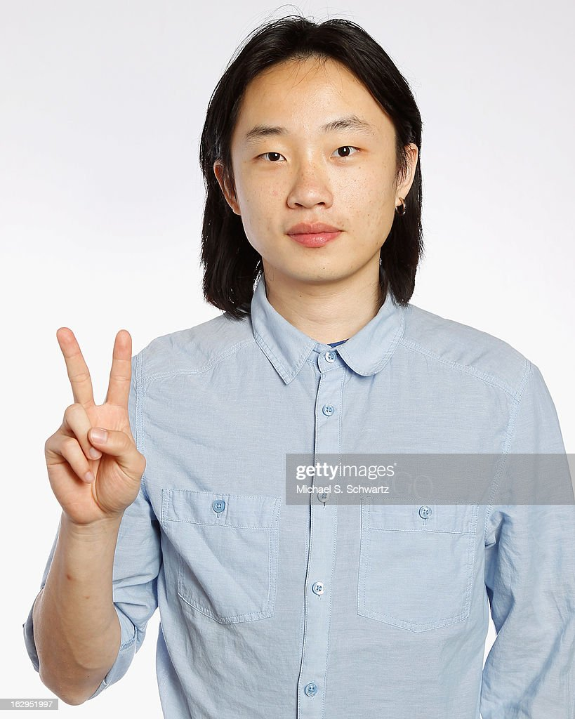 Comedian Jimmy Ouyang poses after his performance at The Ice House Comedy Club on March 1, 2013 in Pasadena, California.