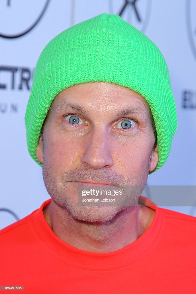 Comedian Jimmy Pardo attends the Electric Run Los Angeles Hosted By Vanessa Hudgens at The Home Depot Center on May 24, 2013 in Carson, California.