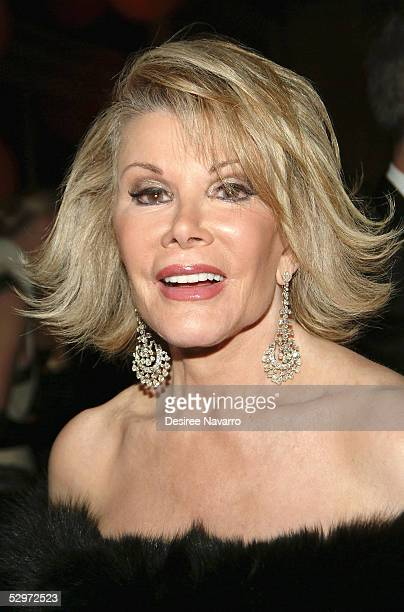 Comedian Joan Rivers attends American Ballet Theatre celebrating its 65th anniversary with the Annual Spring Gala at the Metropolitan Opera House on...