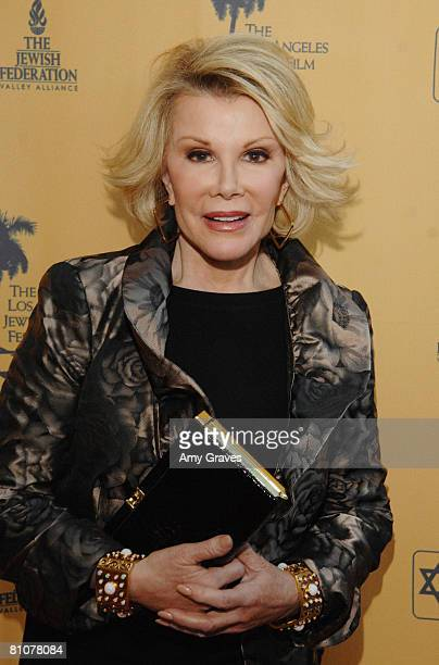 Comedian Joan Rivers attends An Evening With Joan Rivers on May 13 2008 at Skirball Center in Los Angeles California