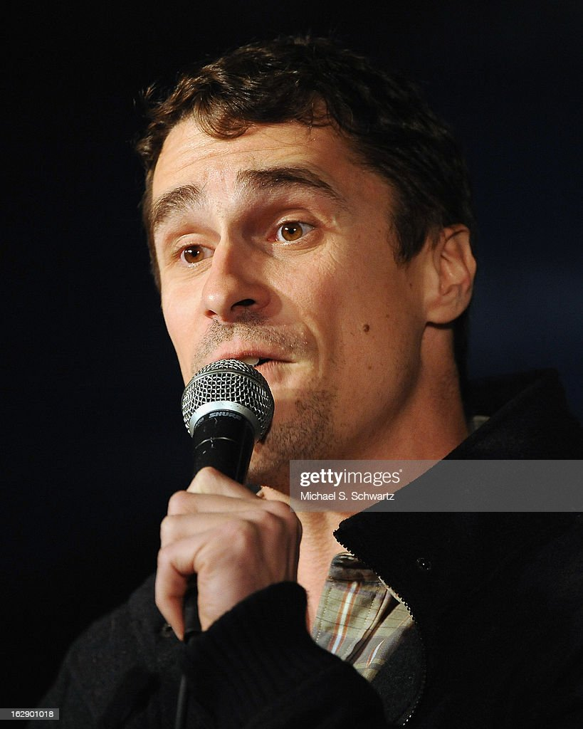 Comedian Joe King performs during his appearance at The Ice House Comedy Club on February 28, 2013 in Pasadena, California.