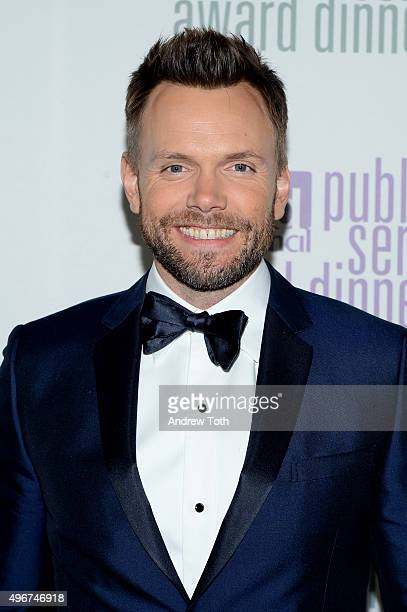 Comedian Joel McHale attends the Ad Council's 62nd Annual Public Service Award Dinner at The Waldorf=Astoria on November 11 2015 in New York City