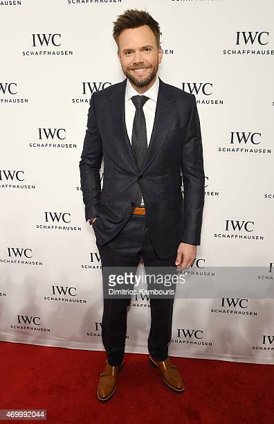 Comedian Joel McHale attends the IWC Schaffhausen Third Annual 'For the Love of Cinema' Gala during the Tribeca Film Festival on April 16 2015 in New...