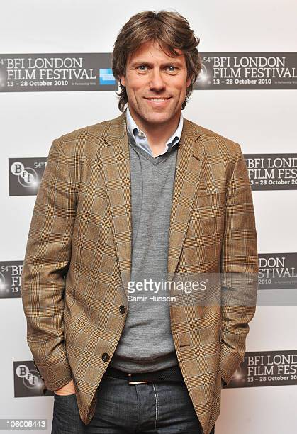 Comedian John Bishop attends the 'Abel' premiere during the 54th BFI London Film Festival at the Vue West End on October 25 2010 in London England