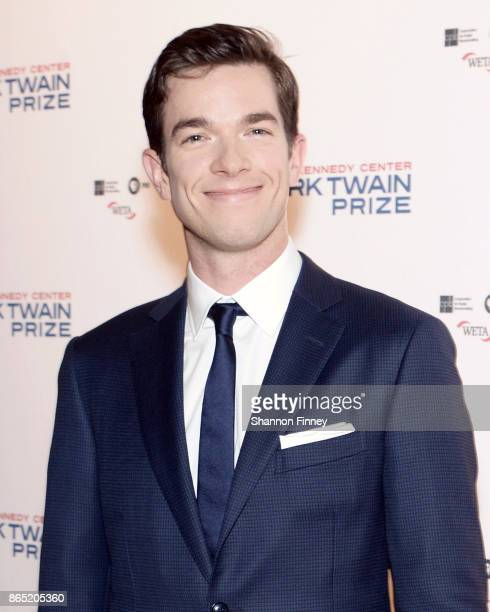 Comedian John Mulaney attends the 2017 Mark Twain Prize for American Humor at The Kennedy Center on October 22 2017 in Washington DC