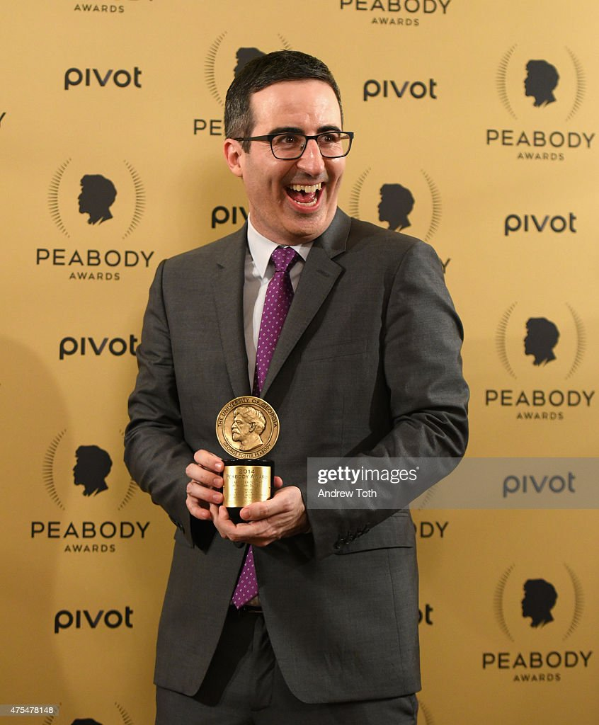 Comedian John Oliver attends The 74th Annual Peabody Awards Ceremony at Cipriani Wall Street on May 31 2015 in New York City