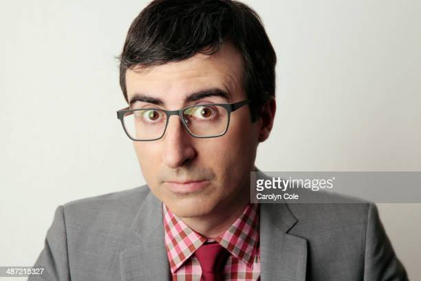 Comedian John Oliver is photographed for Los Angeles Times on April 4 2014 in New York City PUBLISHED IMAGE CREDIT MUST BE Carolyn Cole/Los Angeles...