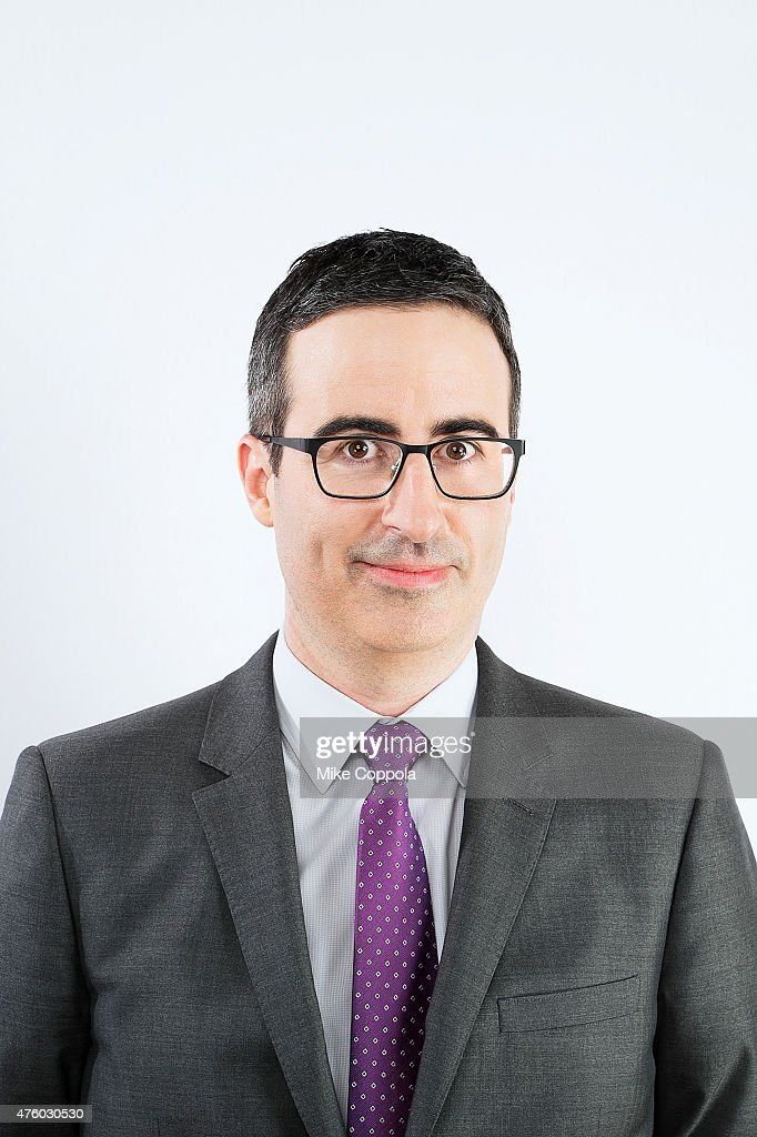 Comedian John Oliver poses for a portrait at The 74th Annual Peabody Awards Ceremony at Cipriani Wall Street on May 31, 2015 in New York City.