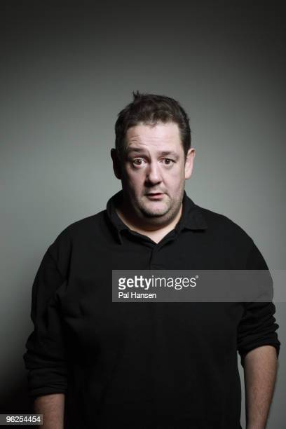 Comedian Johnny Vegas poses for a portrait shoot in London on March 11 2009