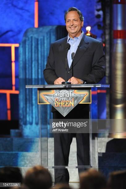 Comedian Jon Lovitz speaks onstage at Comedy Central's Roast of Charlie Sheen held at Sony Studios on September 10 2011 in Los Angeles California