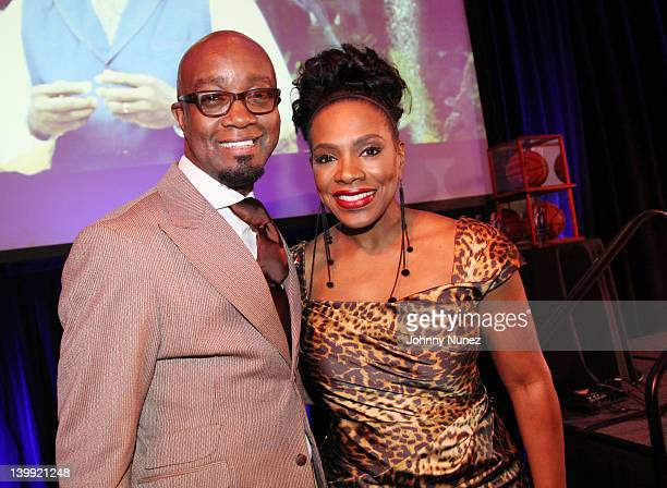 Comedian Jonathan Slocumb and actress Sheryl Lee Ralph attend the All Star Gospel Brunch at Disney Yacht and Beach Club on February 25 2012 in...