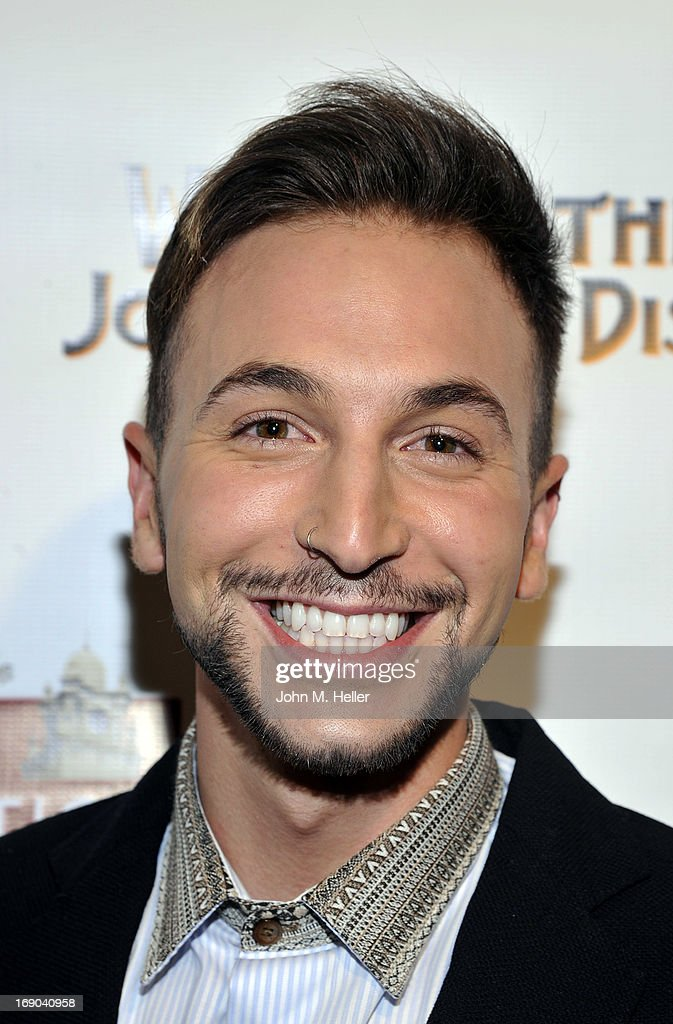 Comedian Jordan Pease attends the screening of 'Weaving The Past: Journey Of Discovery' at the Linwood Dunn Theater at the Pickford Center for Motion Study on May 18, 2013 in Hollywood, California.