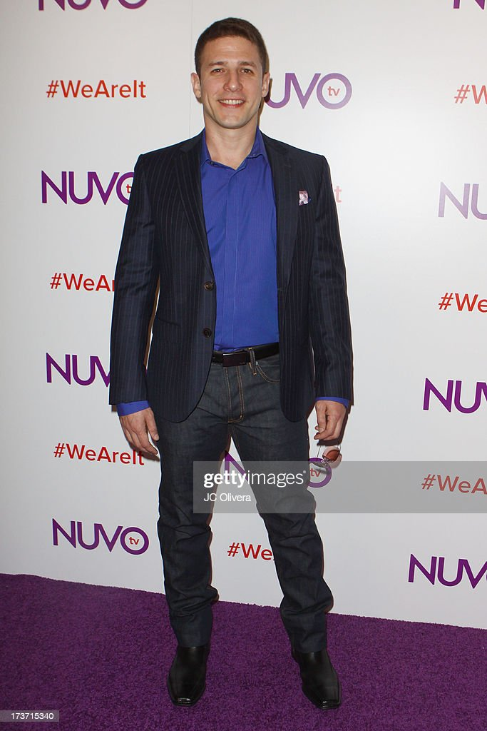 Comedian Jose Sarduy attends NUVOtv Network Launch Party at The London West Hollywood on July 16, 2013 in West Hollywood, California.