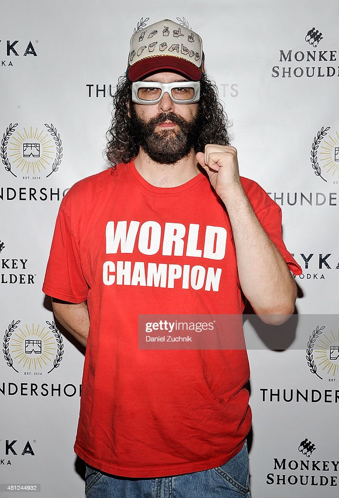 Comedian Judah Friedlander attends the Thundershorts launch event at The Box on June 25 2014 in New York City