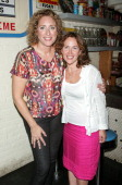 Comedian Judy Gold and girlfriend Elysa Halpern attends 'The Judy Show My Life As A Sitcom' OffBroadway opening night after party at Big Daddy's on...