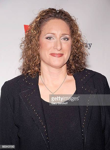 Comedian Judy Gold attends Rosie's Broadway Extravaganza at the Palace Theatre on November 23 2009 in New York City