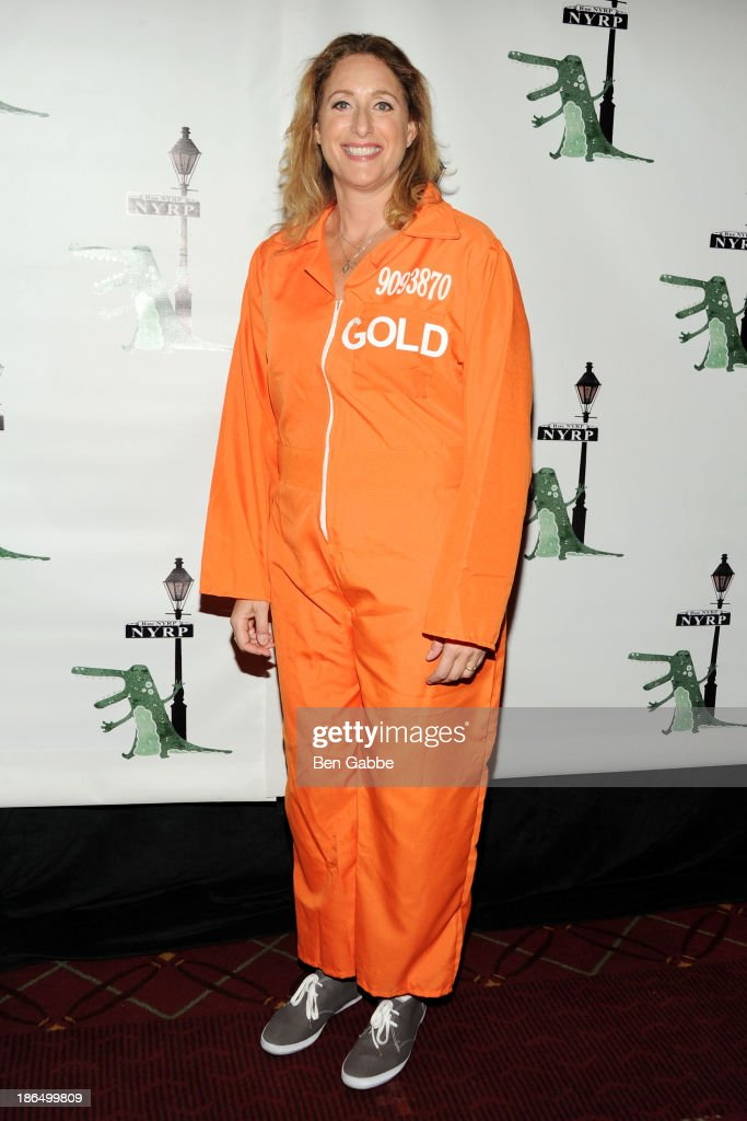 Comedian Judy Gold attends the 18th Annual 'Hulaween In The Big Easy' Event at The Waldorf=Astoria on October 31, 2013 in New York City.