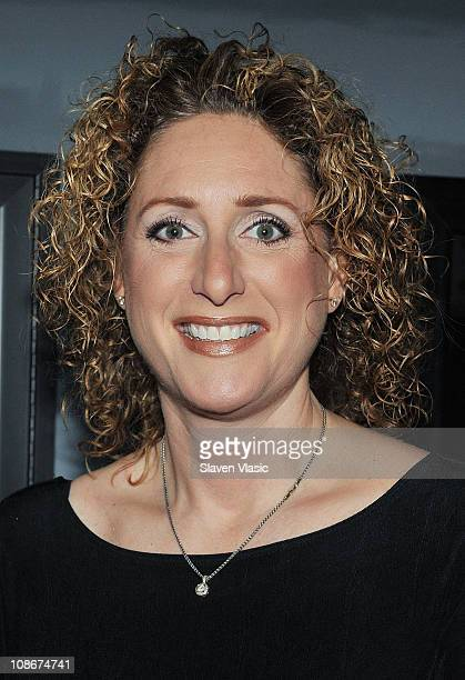 Comedian Judy Gold attends the 2011 HDSA Curtains Up For A Cure benefit at the Angelika Film Center on January 31 2011 in New York City
