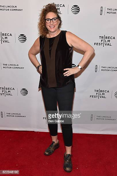 Comedian Judy Gold attends the 'The Last Laugh' Premiere during the 2016 Tribeca Film Festival at SVA Theatre 1 on April 18 2016 in New York City