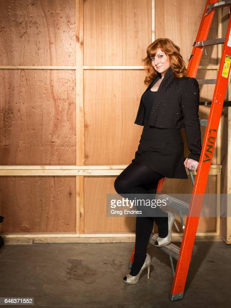 Comedian Julie Klausner is photographed for Emmy Magazine on February 5 2016 in New York City