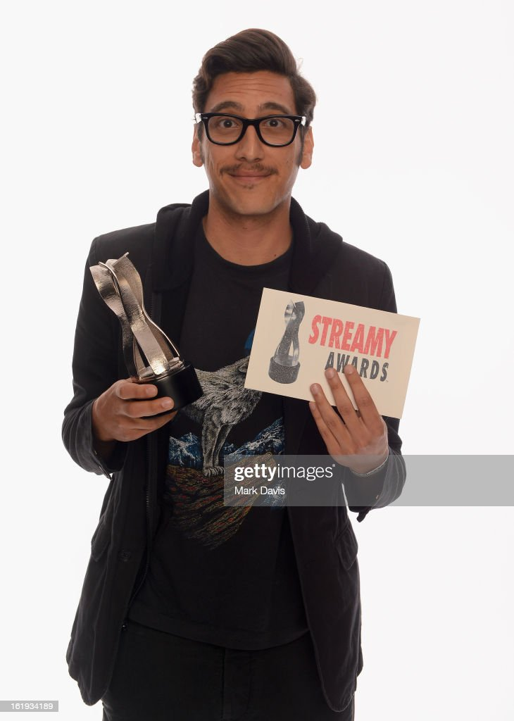 Comedian Kassem G poses for a portrait in the TV Guide Portrait Studio at the 3rd Annual Streamy Awards at Hollywood Palladium on February 17, 2013 in Hollywood, California.