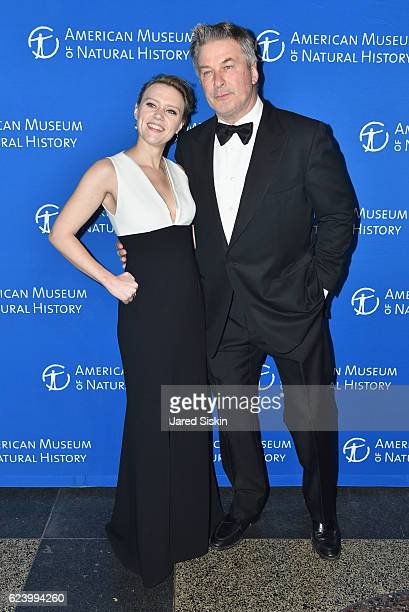 Comedian Kate McKinnon and actor Alec Baldwin attends the American Museum of Natural History's 2016 Museum Gala at American Museum of Natural History...