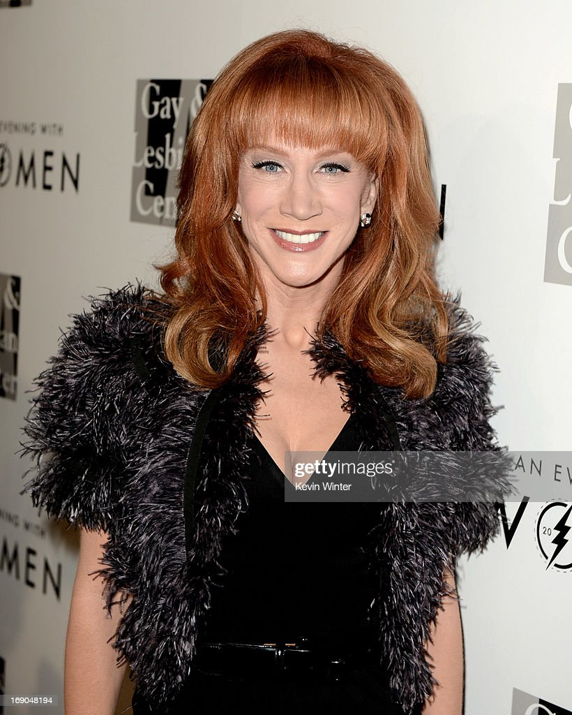 Comedian Kathy Griffin arrives at An Evening With Women benefiting The L.A. Gay & Lesbian Center at the Beverly Hilton Hotel on May 18, 2013 in Beverly Hills, California.