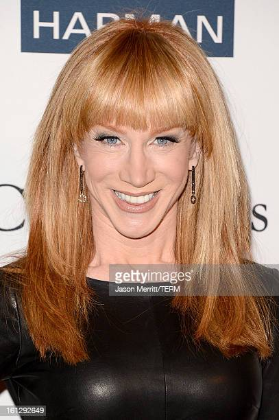 Comedian Kathy Griffin arrives at Clive Davis The Recording Academy's 2013 PreGRAMMY Gala and Salute to Industry Icons honoring Antonio 'LA' Reid at...