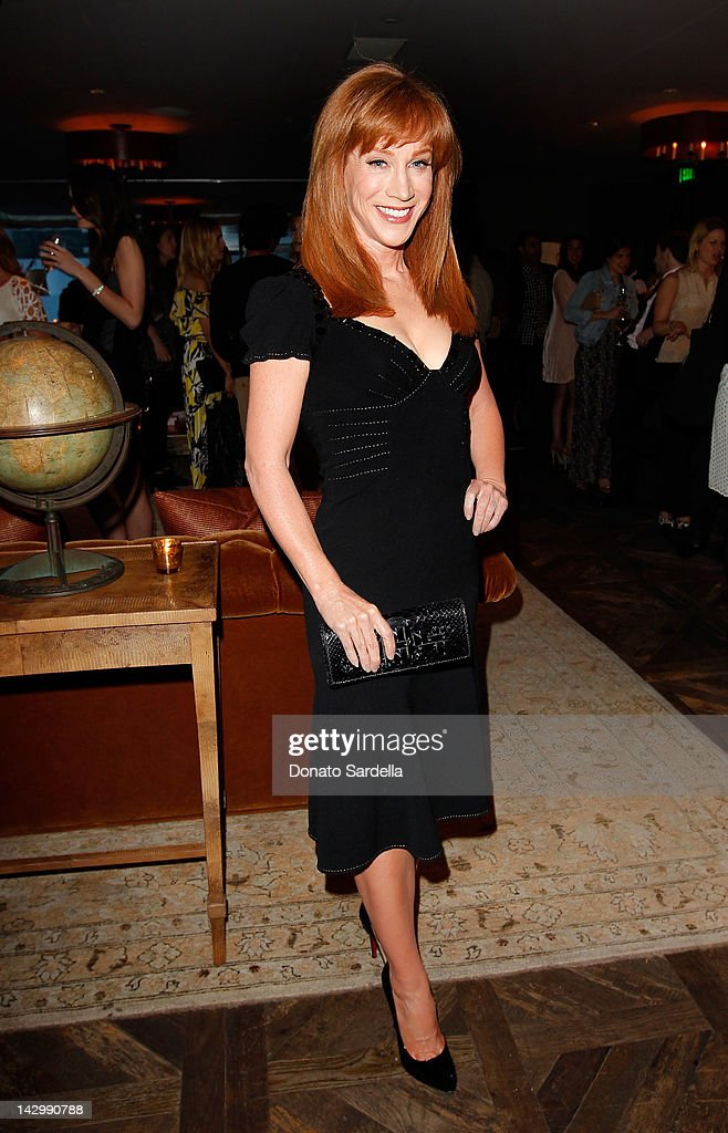 Comedian <a gi-track='captionPersonalityLinkClicked' href=/galleries/search?phrase=Kathy+Griffin&family=editorial&specificpeople=203161 ng-click='$event.stopPropagation()'>Kathy Griffin</a> attends a celebration for Glamour's new book 'Thirty Things Every Woman Should Have and Should Know by the Time She's 30' with Cindi Leive and Rachel Zoe on April 16, 2012 in West Hollywood, California.