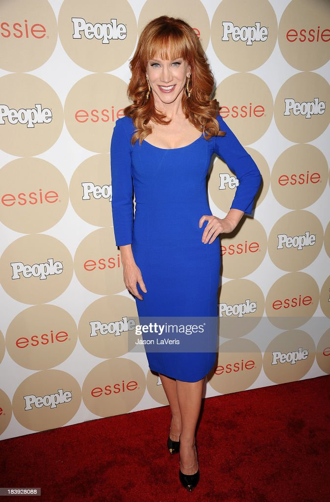 Comedian <a gi-track='captionPersonalityLinkClicked' href=/galleries/search?phrase=Kathy+Griffin&family=editorial&specificpeople=203161 ng-click='$event.stopPropagation()'>Kathy Griffin</a> attends People's 'Ones To Watch' party at Hinoki & the Bird on October 9, 2013 in Los Angeles, California.