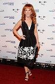 Comedian Kathy Griffin attends the 18th Annual Mark Twain Prize for Humor at The John F Kennedy Center for Performing Arts on October 18 2015 in...
