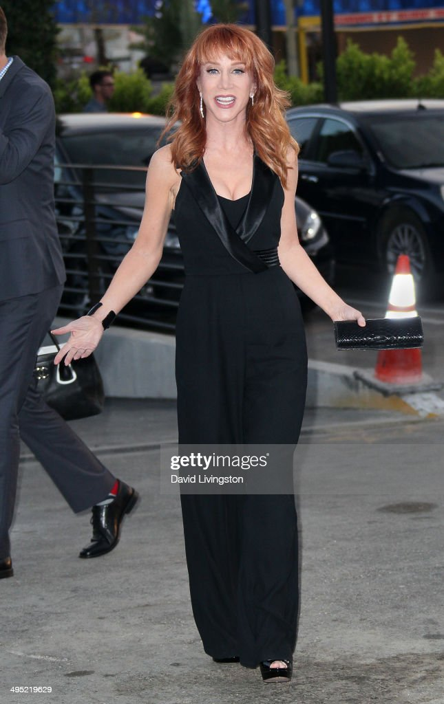 Comedian <a gi-track='captionPersonalityLinkClicked' href=/galleries/search?phrase=Kathy+Griffin&family=editorial&specificpeople=203161 ng-click='$event.stopPropagation()'>Kathy Griffin</a> attends the Groundlings 40th Anniversary Gala at Hyde Lounge on June 1, 2014 in West Hollywood, California.